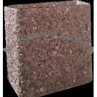 Увеличение дымохода из бетона терракот (для меньшей жаровни)