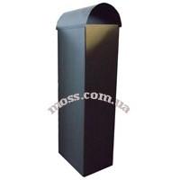 Увеличение дымохода из черного металла (для бетонной вытяжки)