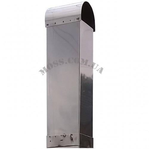 Увеличение дымохода из нержавейки (для бетонной вытяжки)
