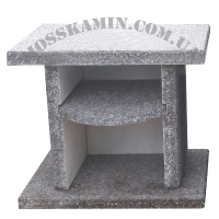 Стол садовый гранит (серый)