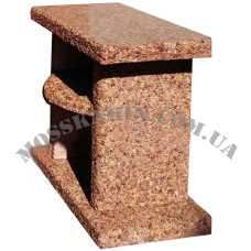 Стол садовый мрамор (терракот)